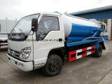 Forland 소형 4X2 3 M3 진공 하수구 트럭 3000 L 하수 오물 흡입 트럭