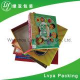 Contenitore di giocattolo di carta impaccante di alta qualità del cartone di stampa del regalo su ordinazione poco costoso all'ingrosso di promozione per il giocattolo dei bambini