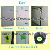 Sala de Armazenagem Fria com porta convexo/Porta Articulada/PORTA CORREDIÇA