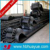 Nastro trasportatore di gomma di trasporto nero industriale (cinghie del PE NN cc Chevron)