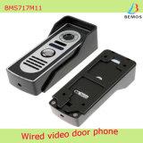 7 Zoll-videotür-Telefon-Türklingel-Wechselsprechanlage-Installationssatz mit 1-Camera 1-Monitor