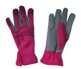 Садовничая рука механика домохозяйки способа промотирования работая защищает перчатки