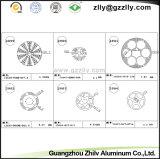 De Uitdrijving Heatsinks van het Profiel van het Aluminium van Guangdong Zhilv/Radiator/Koeler/Heatsink