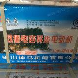 de C.A. que personaliza, promoção do capacitor 0.37-3kw monofásico motor começando e de funcionamento para o uso da máquina do moinho de arroz, motor da indução de C.A. do motor