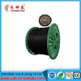 Подземные бронированные XLPE медные электрические провода электрического кабеля