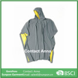 Pano composto PVC Adulto Hoodies Raincoat Poncho de PVC