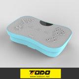 Massager loco del ajuste de dos motores 3D de la vibración de la música ultrafina de la placa