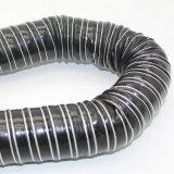 Tissu de fibre de verre en silicone résistant au feu conduit Air flexible