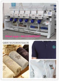 machine machine/six principale de broderie de chapeau de broderie de 9 et 12 couleurs principaux multi automatisée