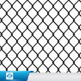 PVC/Gi het Met een laag bedekte Netwerk van de Draad van de Diamant/de Omheining van de Link van de Ketting voor Tuin