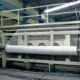 acoplamiento de alambre hexagonal revestido del PVC del acoplamiento del alambre 25m m de 0.8m m