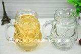 Dimensión de una variable de cristal del Fox de la taza de la maneta creativa