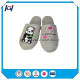Interiores personalizados bordados personalizados baratos zapatillas para dama
