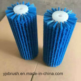 Rullo resistente della spazzola di pulizia dell'abrasione per il cuoio di stampaggio di tessuti