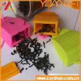 Tè variopinto Infuser del silicone di alta qualità su ordinazione con la bustina di tè (YB-AB-012)