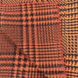 Gird ласточки с тканью шерстей проверки