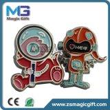 Emblemas feitos sob encomenda por atacado do Pin de metal do esmalte/pinos macios feitos sob encomenda do Lapel do metal do esmalte