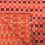 Цветы ткани шерстей типа мозаики теплые