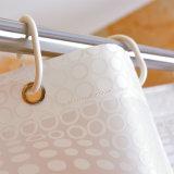 Cortina de chuveiro impermeável do banheiro do Anti-Mildew PEVA da alta qualidade (04S0047)