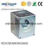 Cabeça econômica Sg7110 da máquina de estaca do laser da fibra para o CNC