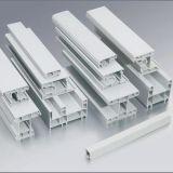 Profil de PVC de bonne qualité pour Windows et le profil de plastique de portes