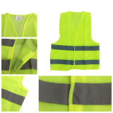 Visibilidade elevada e suor da venda quente que liberam a veste reflexiva da segurança