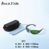 Lasersicherheits-Schutzbrille-Augen-Schutzbrillen für 800-1700nm Lasersicherheits-Glas-Laser-Schutzbrillen für Soem-Wellenlänge-Laserdiode