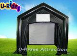 Kleines Filmbildschirm aufblasbares medizinisches Zelt für videofilm