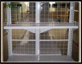 Aménagement de dos de treillis métallique de bazarette