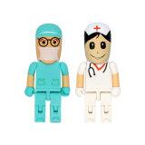 Laufwerk-Leute-Blitz-Laufwerk des Doktor-Nurse Custom USB Pen