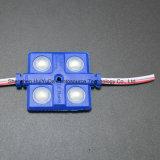 4SMD5630 백색 색깔 LED 주입 모듈 36*36는 LED 모듈을 방수 처리한다
