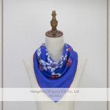小型の正方形100%の絹の標準的なスカーフ