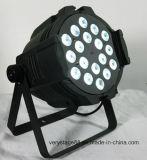 Etapa 18*12W ligero RGBWA 5 en 1 luz de la IGUALDAD del LED