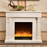 現代簡単な白LEDの軽い暖房の電気暖炉(341)