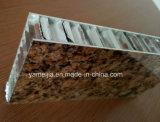 Painéis de alumínio alveolado de Fogo decorativos para parede externa