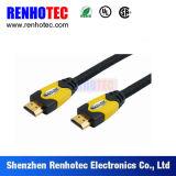 HDMIの入力ケーブルが付いている小型5インチLCDのモニタ