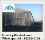 tente d'entrepôt de mémoire de structure d'aluminium de 20X80m grande avec le mur solide