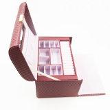 Коробка хранения ювелирных изделий подарка оптовой продажи печатание ODM OEM (J01-F)