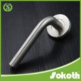Doble bloqueo de la empuñadura de puerta de acero inoxidable