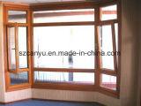 2017 горячая продажа алюминиевых композитных древесины дверная рама перемещена окна