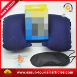Billig kampierendes aufblasbares Kissen für Arbeitsweg, Wegwerfkissen Flug