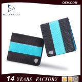 Form-Entwurf kundenspezifische Firmenzeichen-echtes Leder-Bifold Mappen