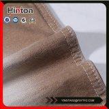 Tela de confeção de malhas armazenada da sarja de Nimes da cor de Brown
