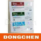 Escrituras de la etiqueta calientes del frasco del holograma 10ml del laser de Decabolin 300mg/Ml de la venta
