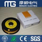Beste Preis-Gelb-elektrisches Kabel-Markierungen