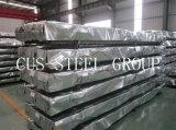 Plaque d'appui en acier galvanisée enduite par zinc de boxe/feuille ondulée toiture de zinc