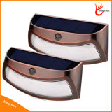 8LEDs Sensor de infravermelhos solares Luzes LED para iluminação de iluminação de noite de alpendre de parede