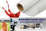 Papier Semi-Collant de sublimation de jet d'encre de poids élevé de Skyimage Fs105GSM 1.88m pour Lycra/tissu de Spandex/élastiques