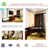 ホテルの家具のOEMの高品質の純木の寝室セット
