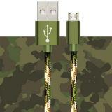 Микро- кабель данным по USB Braided для Samsung Note4 S6 Note5